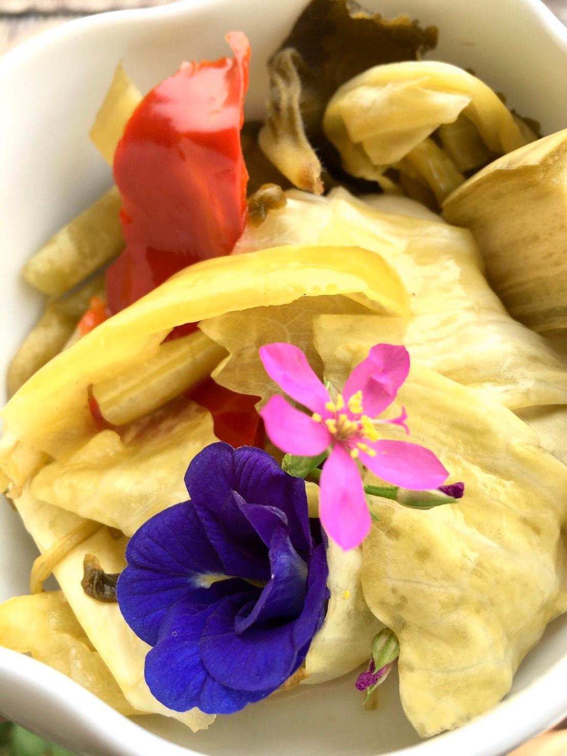 หมักสดผักดองทานเอง เพิ่มโปรไบโอติค